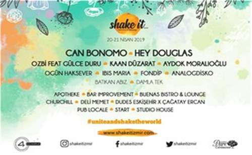 Shake It Coctail Festivali İndirimli Bilet | İzmirBuraya.com