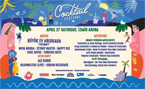 İzmir Coctail Festivali 2019 Bileti | İzmirBuraya.com'da!