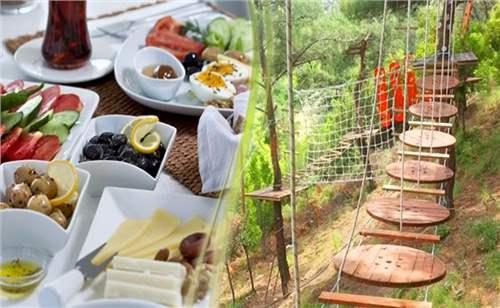 Homeros Adventure 20 Etap Macera Parkuru ve Kahvaltı   İzmirburaya.c