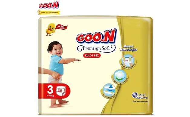Goon Premium Soft 3 Numara Külot Bez 7-12 kg İkiz Paket 48 Adet
