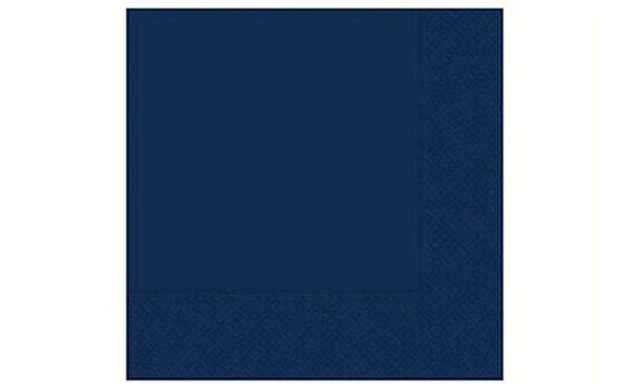 Lacivert Kağıt Peçete 33X33 Cm 20'Li