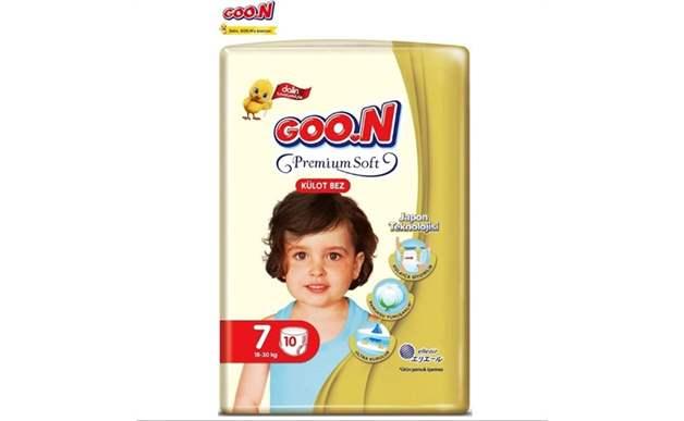 Goon Premium Soft 7 Numara Külot Bez 18-30 kg İkiz Paket 10 Adet