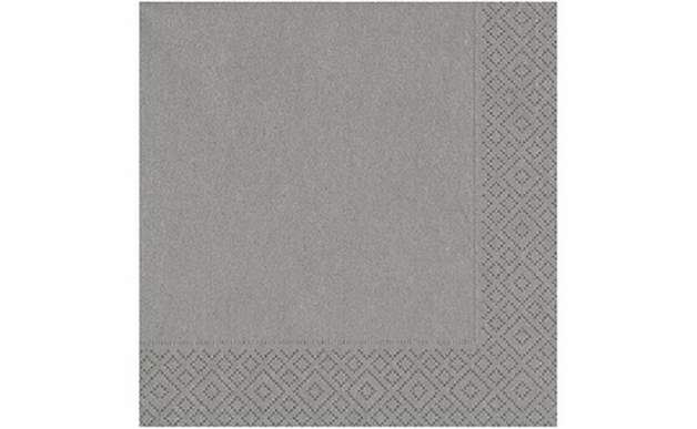 Gümüş Kağıt Peçete 33X33 Cm 20'Li