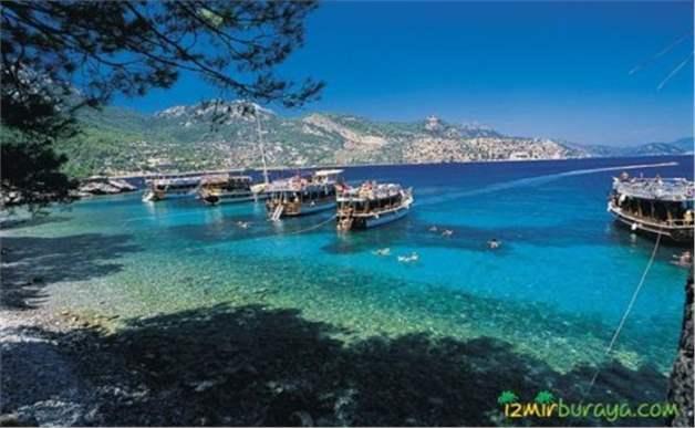 İzmir Kalkışlı Kahvaltı ve Öğle Yemeği Dahil Günübirlik Gökova Tekne turu
