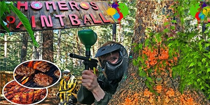 Homeros Adventure Doğa Sporları Merkezi'nde 50 Top Paintball ve Mangal Keyfi
