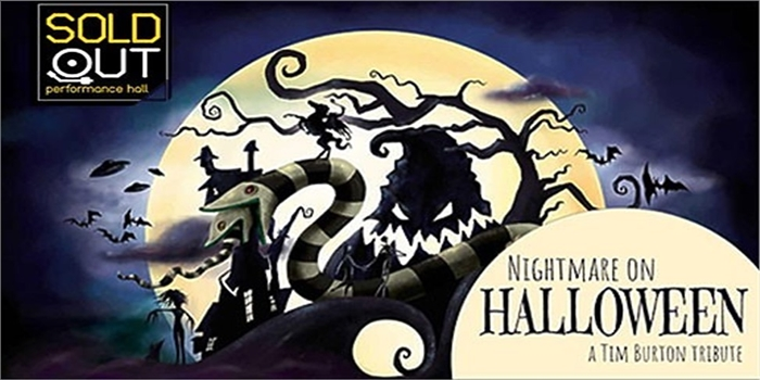 31 Ekim Nightmare On Halloween A Tim Burton Tribute SoldOut Performance Giriş Bileti