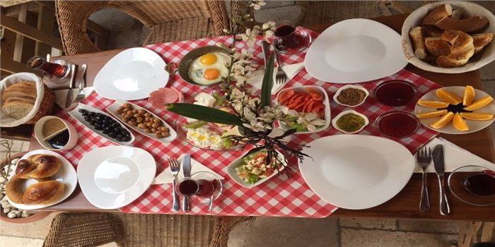 Sığacık La Casa Serpme Köy Kahvaltısı