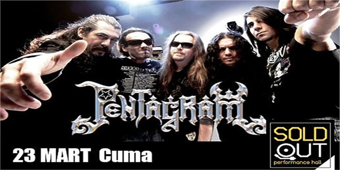 23 Mart Pentagram SoldOut Performance Hall Konser Bileti
