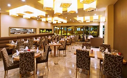 Alsancak Volley Hotel Açık Büfe Kahvaltı Restaurant Alanı - izmirburaya.com